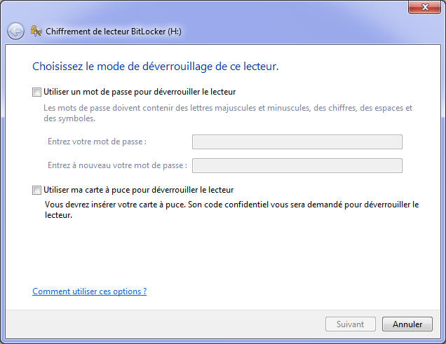 chiffrement de lecteur bitlocker windows 7