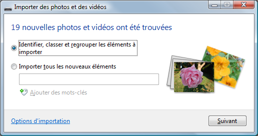 assistant import photos windows live