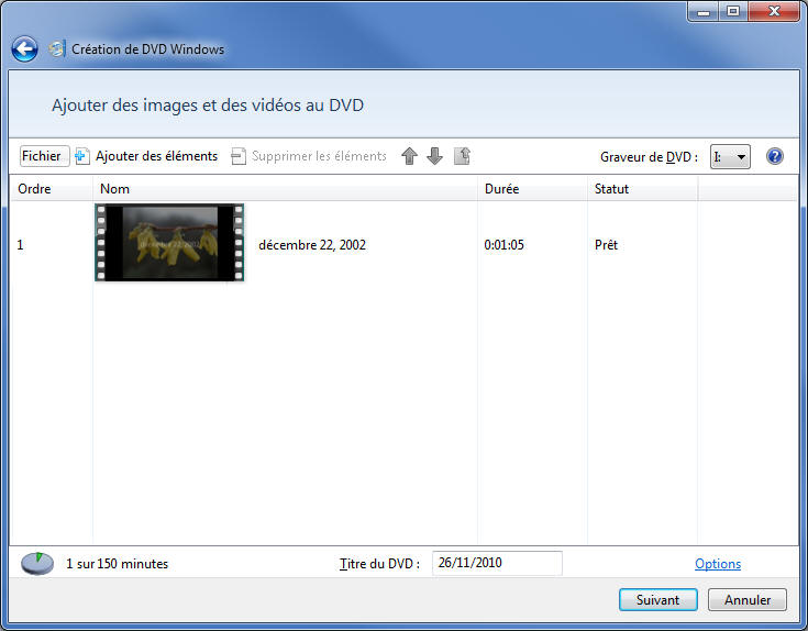 DVD Windows