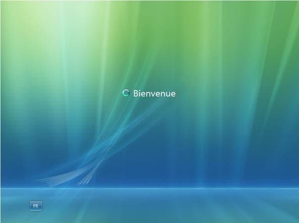 Windows Vista - Installation - Bienvenue