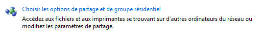 Joindre un homegroup