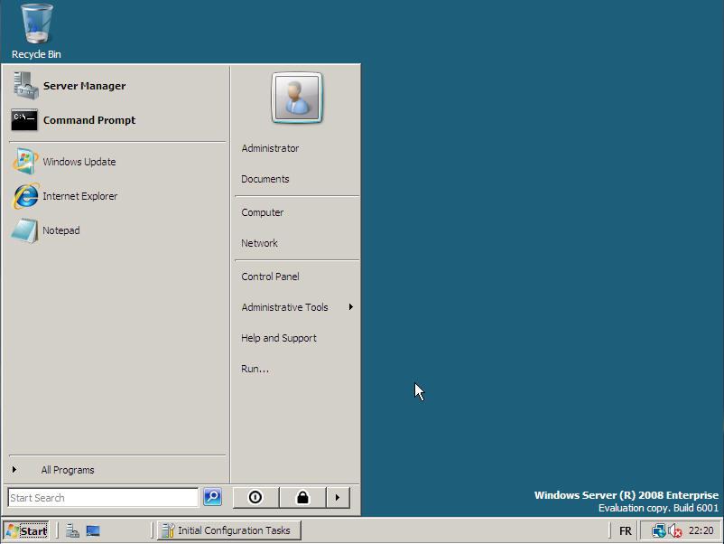 desktop windows server: