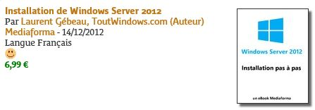 ebook Windows Serveur 2012
