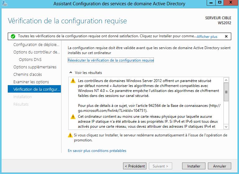 Windows Server 2012 Active Directory Domain Services