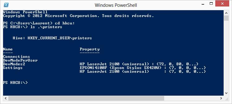 vérifier registre windows 10