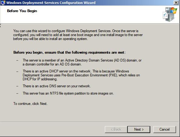 ToutWindows com - Déploiement de Windows : Installation of WDS