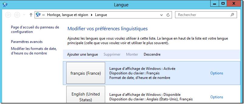 windows server 2012 installer une langue d affichage tout sur windows. Black Bedroom Furniture Sets. Home Design Ideas