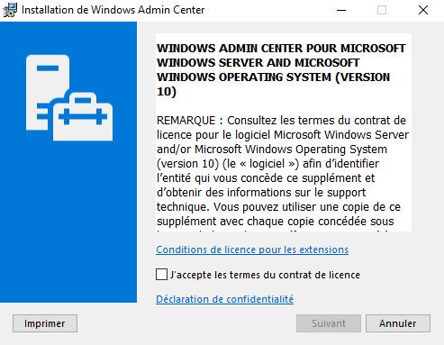 Windows Server 2019 : découverte de Windows Admin Center | www
