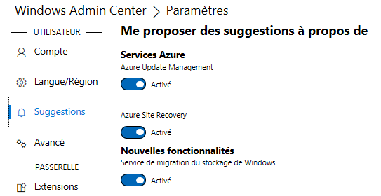 Windows Server 2019 : découverte de Windows Admin Center